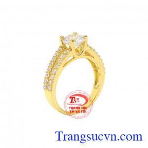 Nhẫn vàng nữ sang trọng