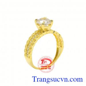 Nhẫn vàng phong cách nổi bật