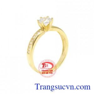 Nhẫn vàng tây phái đẹp