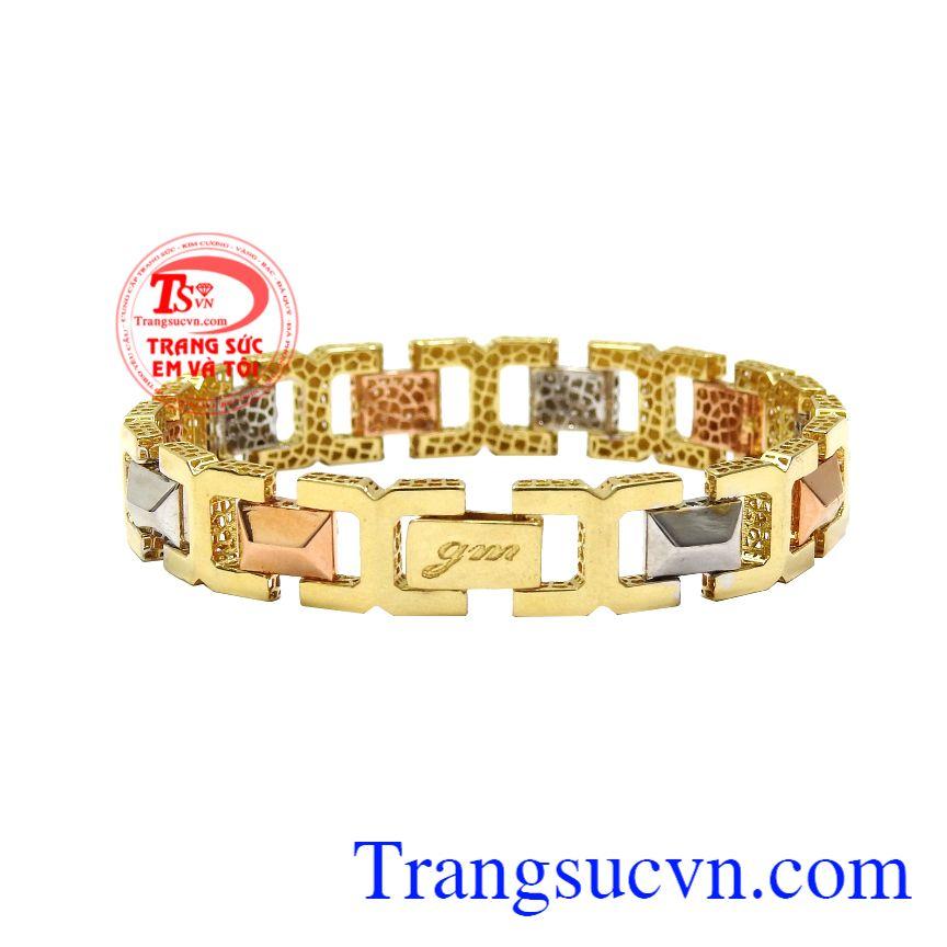 Lắc nam vàng tây phong cách, thời trang và hợp xu hướng.