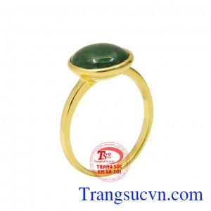 Nhẫn cẩm thạch ấn tượng