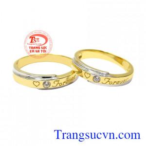 Nhẫn cưới tình yêu diệu kỳ