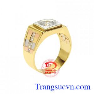 Nhẫn vàng phái mạnh thời trang