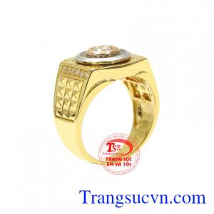Nhẫn vàng phái mạnh xu hướng