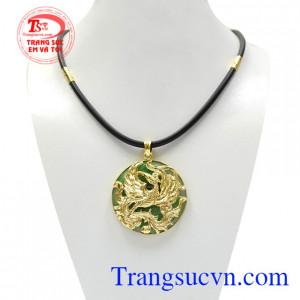 Bộ trang sức phụng hoàng jadeite đẹp