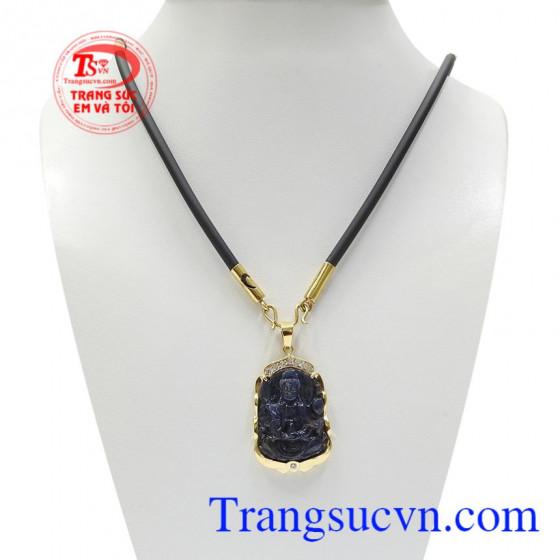 Bộ Phật Quan Âm Sapphire Bình An