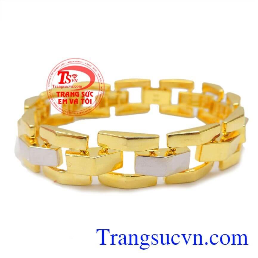 Lắc tay nam vàng đẳng cấp phái mạnh