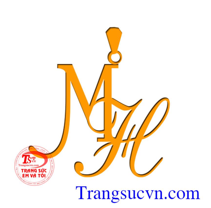 Mặt dây chữ MH