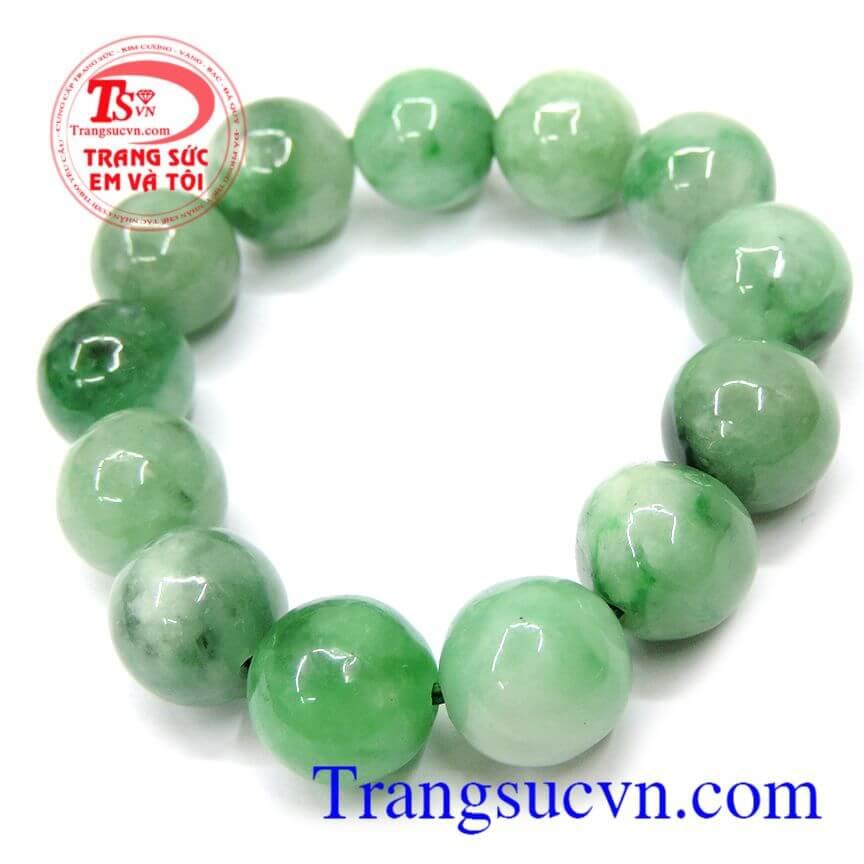Chuỗi ngọc jadeite TN 13 hạt