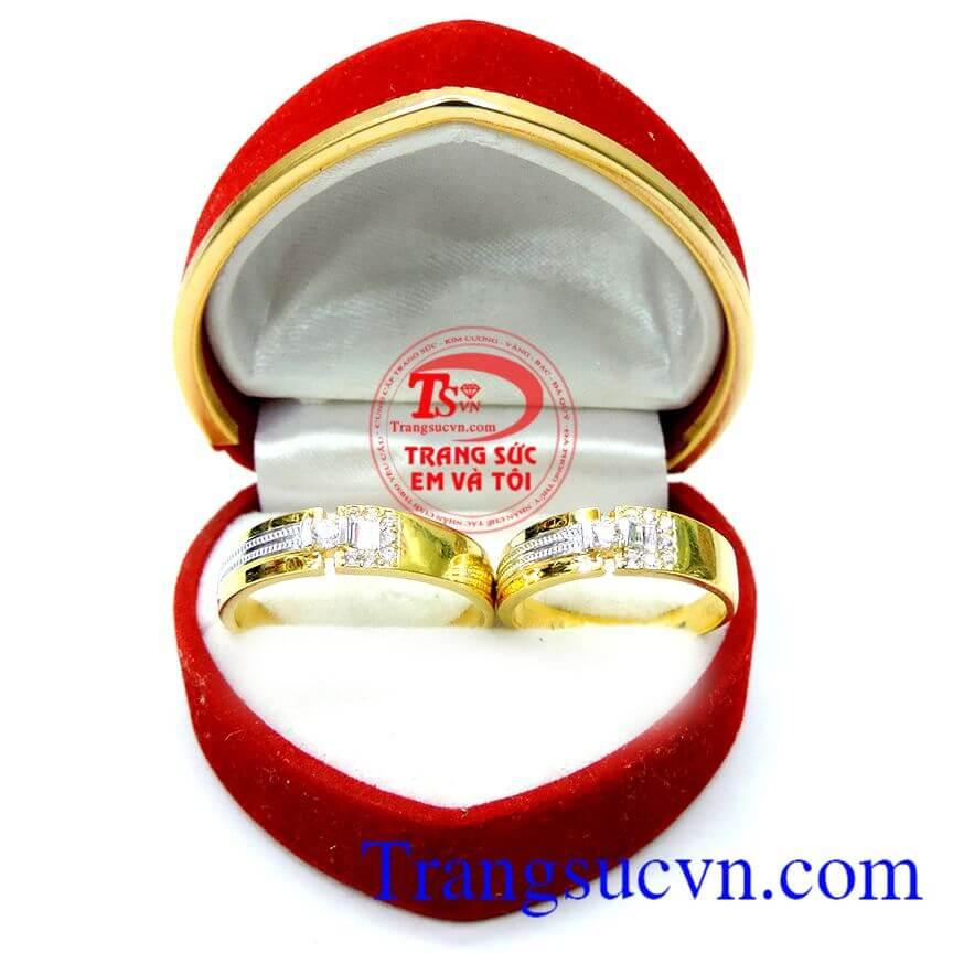 Nhẫn cưới 10k đeo thủy chung