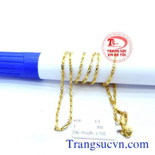 day-chuyen-nu-dep,Hình ảnh: Day chuyen vang dep,day chuyen vang,day chuyen dep, http://trangsucvn.com