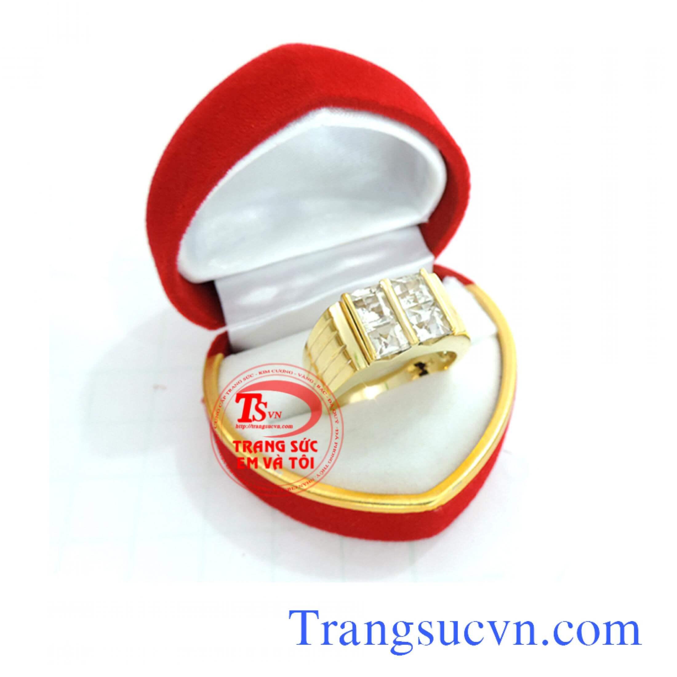 Nhẫn nam vàng tây, nhẫn nam đep, nhẫn nam vàng trắng