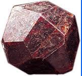 Pyrop stone