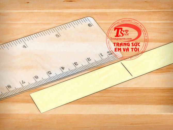 cách đo số tay nhanh, đo size nhẫn chính xác, cách đo số tay đeo nhẫn