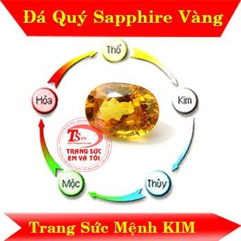 Saphir Vàng