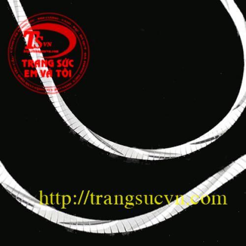 day_chuyen_vang_trang ,Dây chuyền vàng trắng